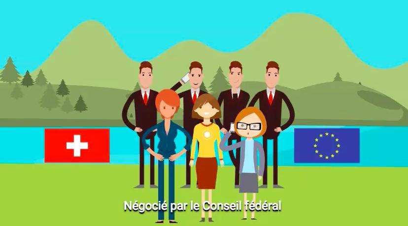 VIDEO: la voie bilatérale, essentielle pour la Suisse