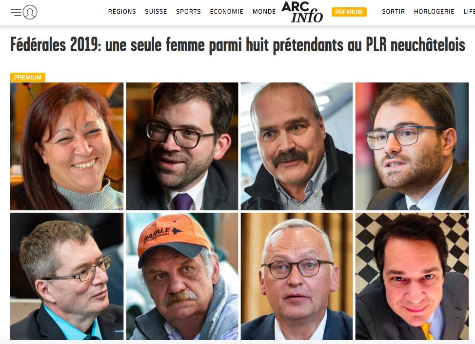 Arcinfo : les candidats à la candidature du PLR