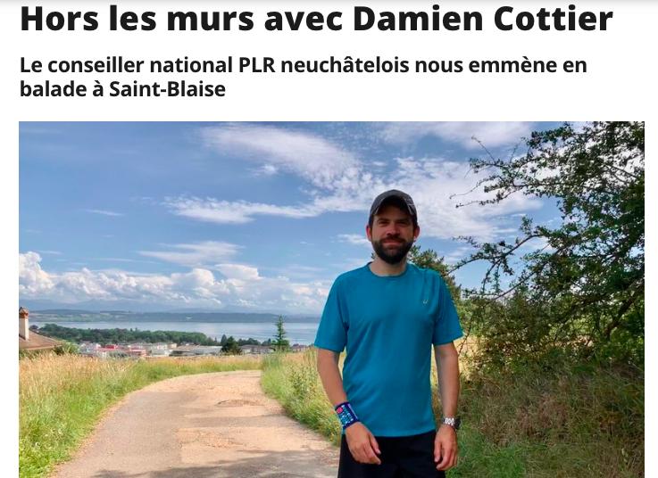 RTN: hors les-murs avec Damien Cottier (interview)