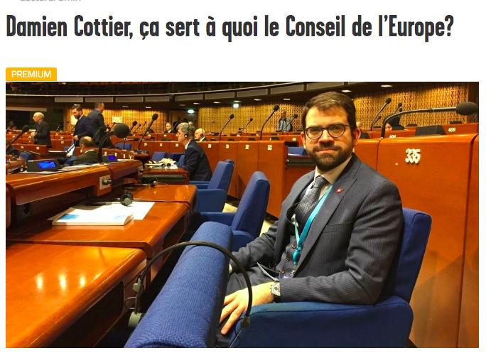Arcinfo: Damien Cottier, ça sert à quoi le Conseil de l'Europe?