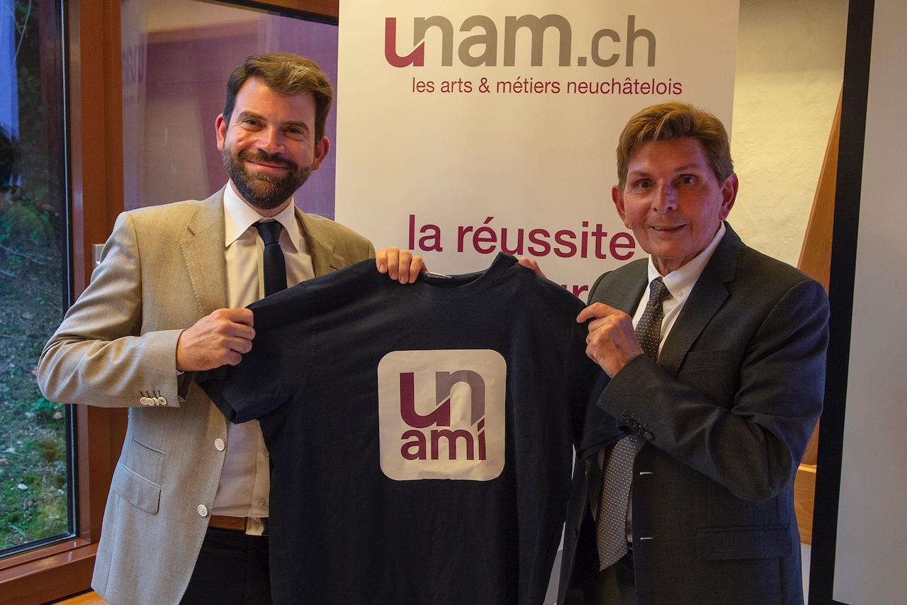 Economie: Damien Cottier à la présidence des Arts & Métiers neuchâtelois