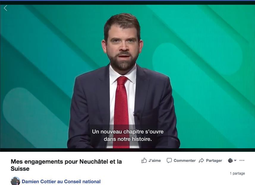 Mes engagements pour Neuchâtel et la Suisse (VIDEO)